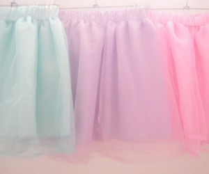 pastel, skirt, and pink image