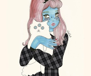 valfre, cat, and art image