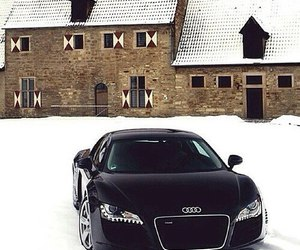 car, audi, and beautiful image