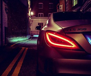 car, mercedes, and cls image
