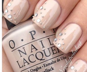 nails, nail art, and opi image