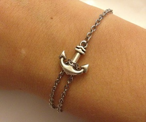 bracelet, anchor, and accessories image