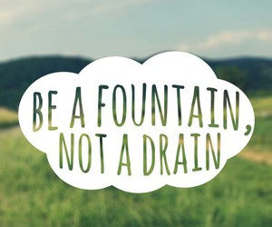 be, drain, and quote image