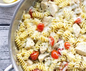Chicken, lemon, and pasta image