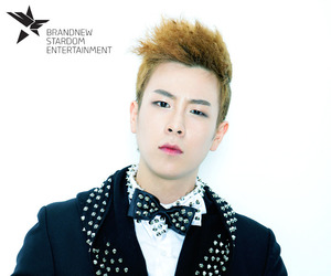 kpop, p.o, and block b image