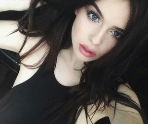 girl, acacia brinley, and black image