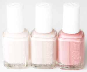 essie, pink, and nails image