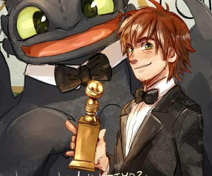 dragon and hiccup image