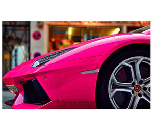 cars, pink, and girlythings image