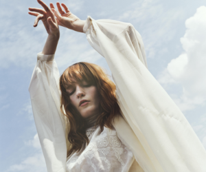 cool, florence welch, and sky image