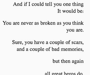 quotes, hero, and broken image