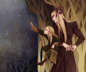 Legolas, thranduil, and the hobbit image
