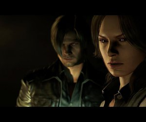 helena, resident evil 6, and leon image
