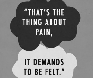 pain, quotes, and the fault in our stars image