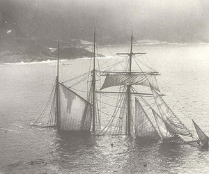 beached, gibson, and shipwreck image