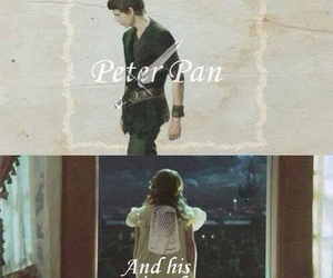 peter pan, once upon a time, and ouat image