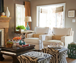 browns, classic, and living rooms image