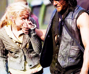 norman reedus, beth, and twd image