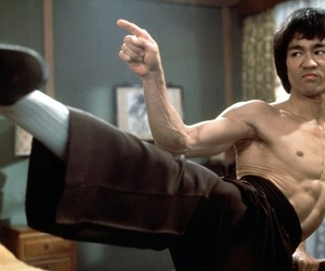 bruce lee, martial arts, and fist of fury image