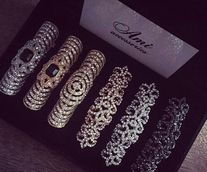 accessories, luxury, and rings image