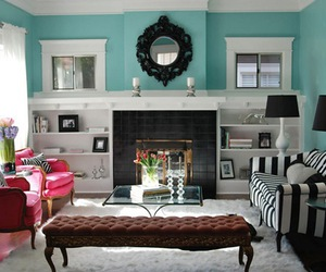 living room, interior design, and decor image
