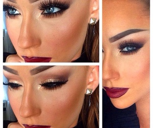 girls, lips, and makeup image