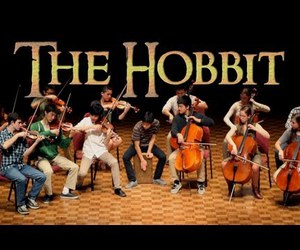 cover, the hobbit, and orchestra image