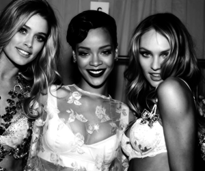 rihanna, model, and candice swanepoel image