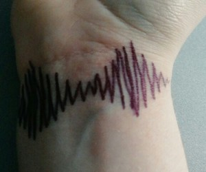 arctic monkeys, black, and veins image