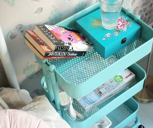 blue, tumblr, and girly image