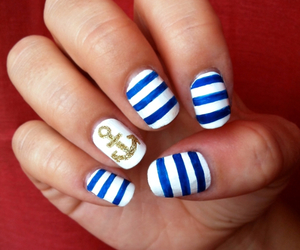 blue, stripes, and tumblr image