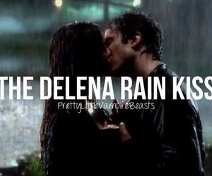 elena gilbert, damon salvatore, and delena image