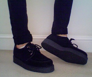 creepers, fashion, and girl image
