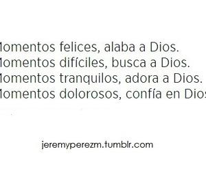 faith, God is Love, and dios es amor image