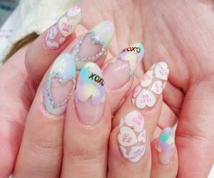 nails, japanese, and kawaii image