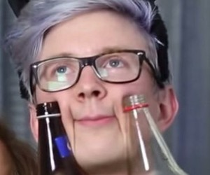 cat and tyler oakley image