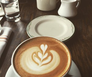cappuccino, morning, and coffee image