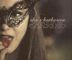 tvd, katherine pierce, and the vampire diaries image