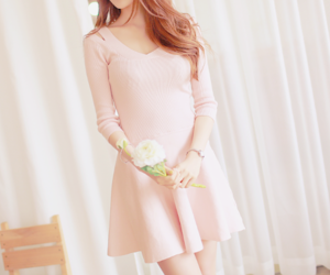 beauty, bright, and dress image