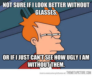 funny and glasses image
