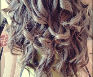 curly and hair... image