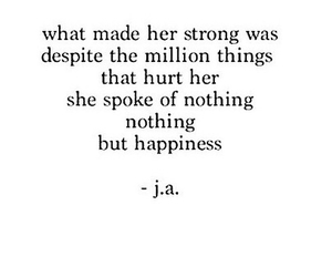 happiness, hurt, and quotes image