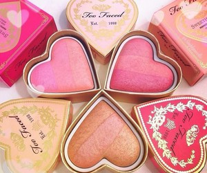 makeup, blush, and fashion image