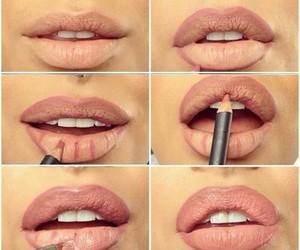 lips, makeup, and make up image