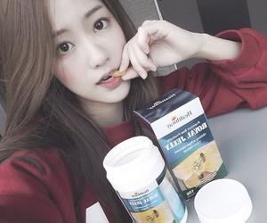 asian, asian girl, and hair image
