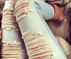 jeans, fashion, and uggs image