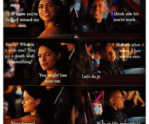 fast furious, the best couple, and dominic toretto image