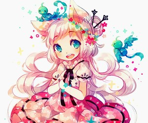 anime, kawaii, and anime girl image