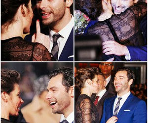 evangeline lilly, the hobbit, and aidan turner image