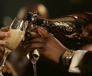 luxury, champagne, and party image
